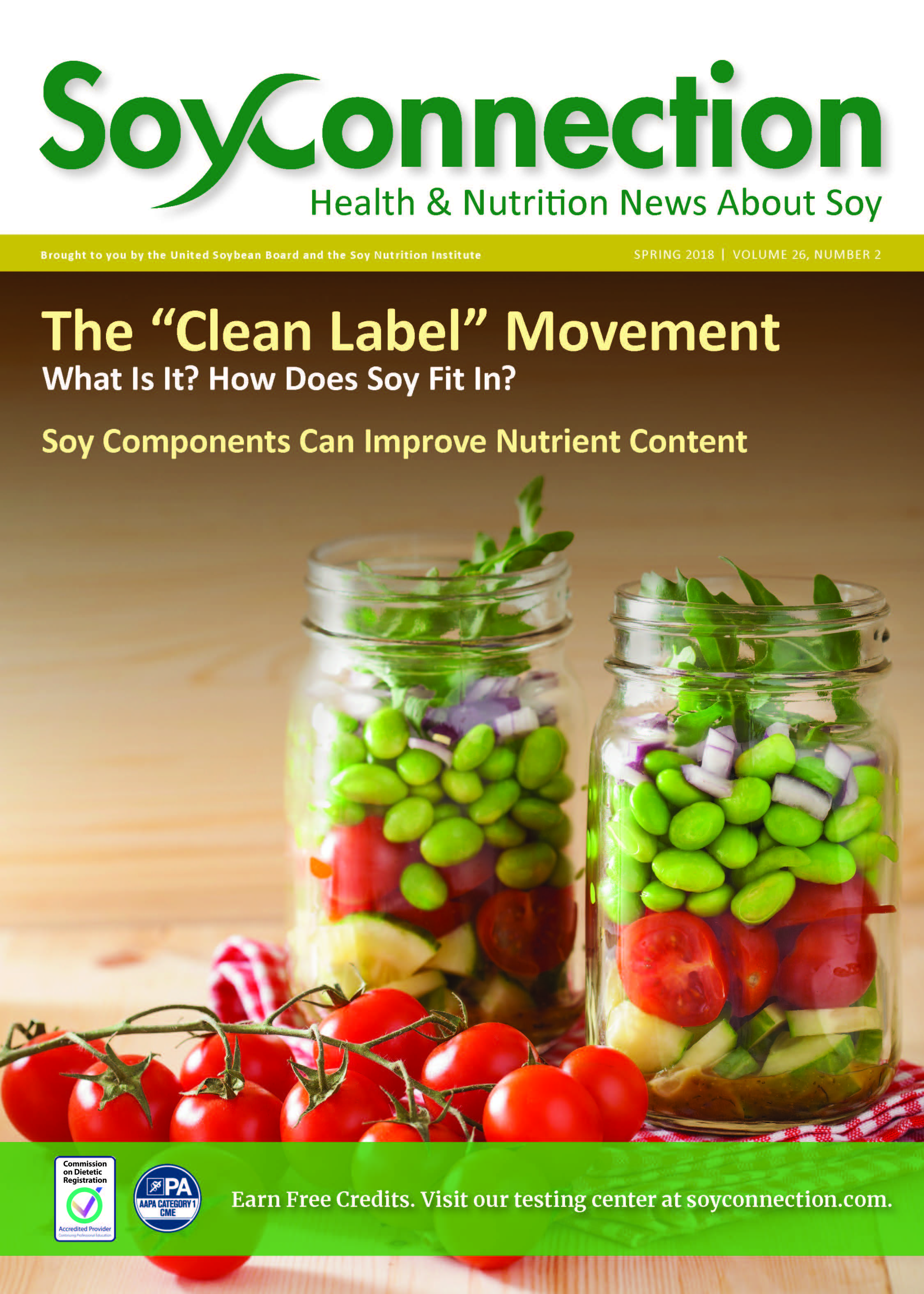 "Soy Connection The ""Clean Label"" Movement"
