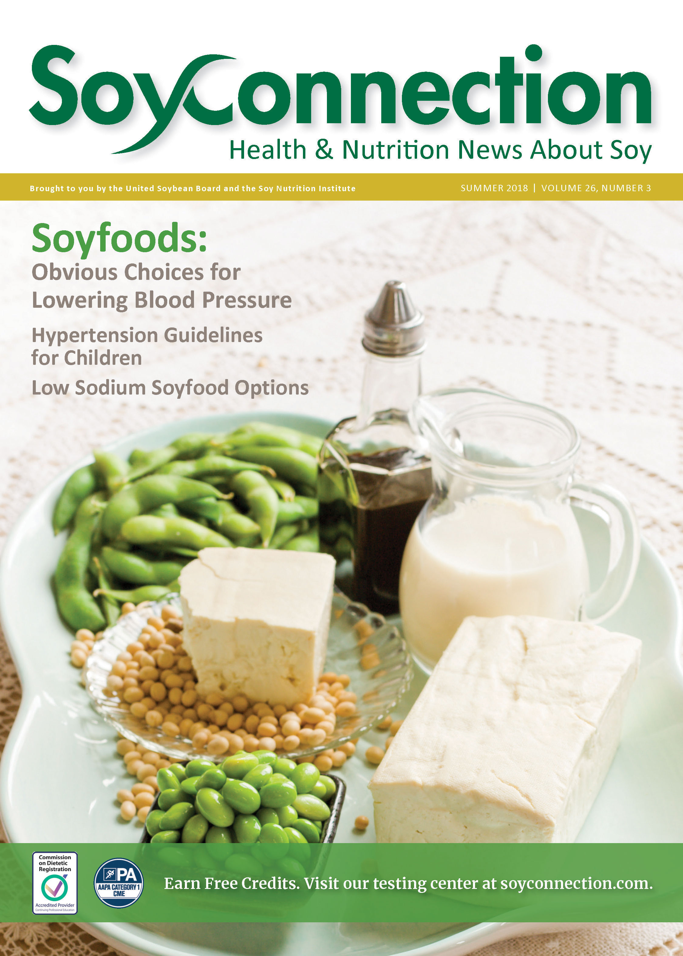 Soy Connection Lowering Blood Pressure